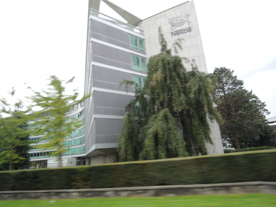 Nestle HQ in Lausanne